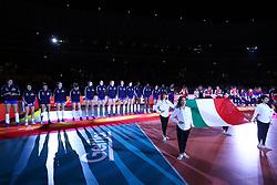 PODIO ITALIA<br /> ITALIA - SERBIA<br /> FINALE <br /> PALLAVOLO CAMPIONATO MONDIALE FEMMINILE VOLLEY GIAPPONE 2018<br /> YOKOHAMA (JPN) 20-10-2018<br /> FOTO FILIPPO RUBIN