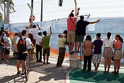 Motorsports / Formula 1: World Championship 2010, GP of Europe, fans, spectators at a fence, Zaun, Zuschauer,