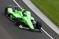 May 18, 2018 - Indianapolis, Indiana, United States of America - DANICA PATRICK (13) of the United States brings her car through turn one during ''Fast Friday'' practice for the Indianapolis 500 at the Indianapolis Motor Speedway in Indianapolis, Indiana. (Credit Image: © Chris Owens Asp Inc/ASP via ZUMA Wire)