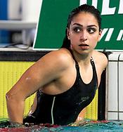 SCIMONE Jasmine<br /> (1996) <br /> SMGM Team Nuoto Lombardia <br /> 50 rana donne<br /> Riccione 14-04-2018 Stadio del Nuoto <br /> Nuoto campionato italiano assoluto 2018<br /> Photo &copy; Andrea Staccioli/Deepbluemedia/Insidefoto