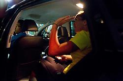 Jelena Jankovic of Serbia in a car when she retired with an injury in her match  against Anastasiya Yakimova of Belarus  at 2nd Round of Singles at Banka Koper Slovenia Open WTA Tour tennis tournament, on July 22, 2010 in Portoroz / Portorose, Slovenia. (Photo by Vid Ponikvar / Sportida)