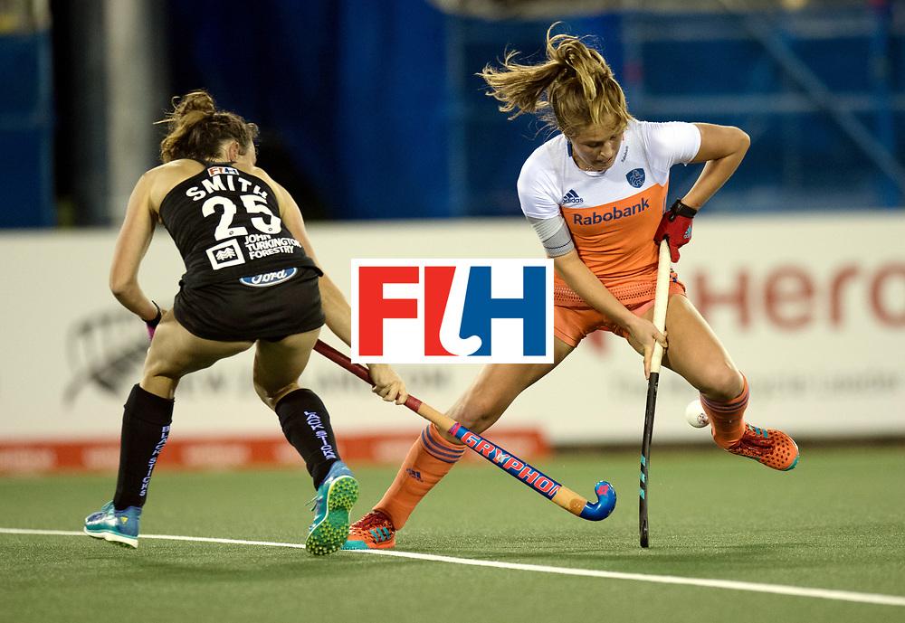 AUCKLAND - Sentinel Hockey World League final women<br /> Match id 10292<br /> 02 NED v NZL (Pool A)<br /> Foto: Waard Xan De <br /> WORLDSPORTPICS COPYRIGHT FRANK UIJLENBROEK
