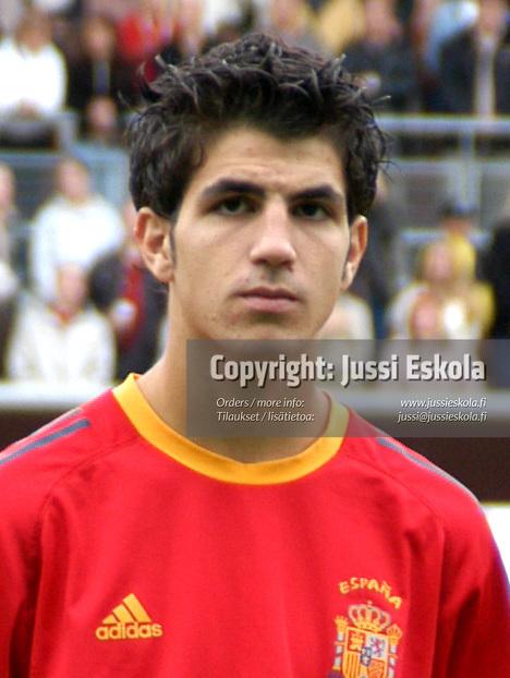 Cesc Fabregas.<br /> Alle 17-vuotiaiden MM-kisat 2003.&amp;#xA;Photo: Jussi Eskola