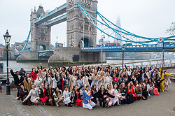 © Licensed to London News Pictures. 21/11/2019. London, UK. National representatives from around the world arrive in London for the 69th Miss World festival and final. Photo credit: Peter Manning/LNP