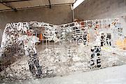 Vitoria_ES, Brasil...Artesaos no atelie do artista plastico Hilal Sami Hilal, eles foram beneficiados por projetos sociais em Vitoria, Espirito Santo...The artisans, He is  benefit by the social programs in Vitoria, Espirito Santo...Foto: LEO DRUMOND / NITRO