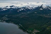 Douglas Island, Aerial