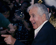 Sir Ian Holm, arriving at The New York City premiere of The Emperor's New Clothes, a Paramount Classics film in which he stars. Photo by Jonathan Barth/PictureGroup