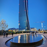 MILANO, Citylife district. The Hadid Tower il nuovo grattacielo di Generali