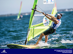 From 27 January to 3 February 2019, Miami will host sailors for the second round of the 2019 Hempel World Cup Series in Coconut Grove. More than 650 sailors from 60 nations will race across the 10 Olympic Events. ©JESUS RENEDO/SAILING ENERGY/WORLD SAILING<br /> 29 January, 2019.