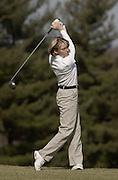 Golf Action Shot for Media Guide