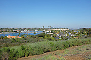 Scenic View from Back Bay View Park Newport Beach