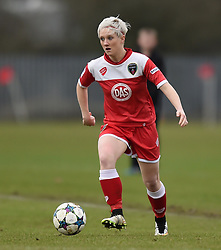 Bristol Academy's Lauren Townsend - Photo mandatory by-line: Paul Knight/JMP - Mobile: 07966 386802 - 01/03/2015 - SPORT - Football - Bristol - Stoke Gifford Stadium - Bristol Academy Women v Aston Villa Ladies - Pre-season friendly