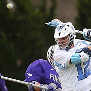 UNC vs. Furman Lacrosse on February 7th, 2015 at Fetzer Field in Chapel Hill, N.C.