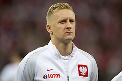 October 8, 2017 - Warsaw, Poland - Kamil Glik of Poland during the FIFA World Cup 2018 Qualifying Round Group E match between Poland and Montenegro at National Stadium in Warsaw, Poland on October 8, 2017  (Credit Image: © Andrew Surma/NurPhoto via ZUMA Press)