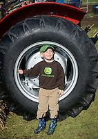 Farm days, agriculture, tractor