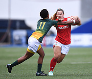 Wales Kerin Lake <br /> Wales Women v South Africa Women<br /> Autumn International<br /> <br /> Photographer Mike Jones / Replay Images<br /> Cardiff Arms Park<br /> 10th November 2018<br /> <br /> World Copyright © 2018 Replay Images. All rights reserved. info@replayimages.co.uk - http://replayimages.co.uk