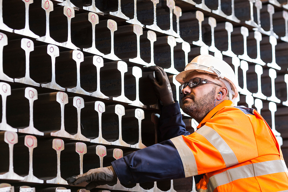 British Steel - Long products Rail production