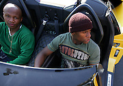 orld Exclusive images of Floyd Mayweather Jr and Zab Judah taken outside his gym in Las Vegas in Floyd's yellow Lamborghini as reports surfaced that Floyd Mayweather is coming out of retirement to fight Juan Manuel Marquez on 18 July. Las Vegas, Nevada, 30th April 2009.