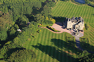 An aerial view of the Trump International Scotland , Aberdeen, Scotland.<br /> Picture: Fran Caffrey www.golffile.ie