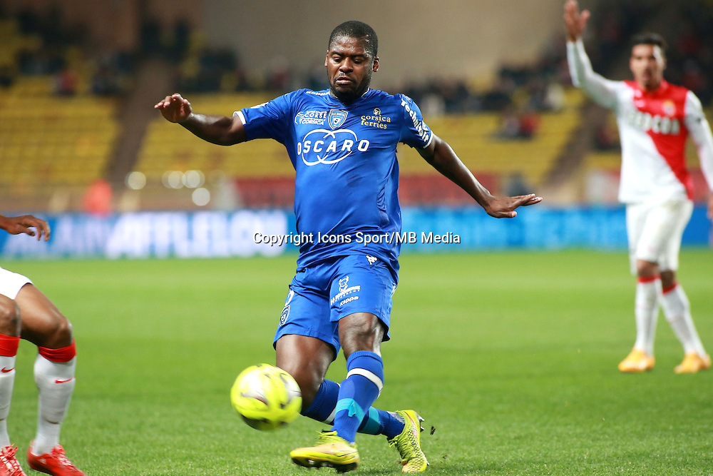 ROMARIC - 13.03.2015 -   Monaco / Bastia -  29eme journee de Ligue 1 <br />