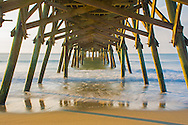 Although not what I had planned, this is now somewhat of a historical photo. The winds, rain, and flooding that was a result of Hurricane Matthew , washed away most of Surfside Pier.