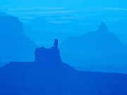 Monument Valley on the border between Arizona and Utah.