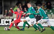 Frederik Bay (FC Helsingør) under kampen i 2. Division mellem Boldklubben Avarta og FC Helsingør den 10. november 2019 i Espelunden (Foto: Claus Birch).