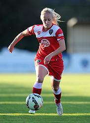 Nadia Lawrence of Bristol Academy - Mandatory byline: Dougie Allward/JMP - 07966386802 - 27/08/2015 - FOOTBALL - Stoke Gifford Stadium -Bristol,England - Bristol Academy Women FC v Oxford United Women - FA WSL Continental Tyres Cup