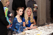 TALI KANE; CLARA PAGET, Donatella Versace celebrates the launch of the CSM 20:20 Fund, at the Connaught Hotel, Mayfair, London, 11th November, 2010. -DO NOT ARCHIVE-© Copyright Photograph by Dafydd Jones. 248 Clapham Rd. London SW9 0PZ. Tel 0207 820 0771. www.dafjones.com.