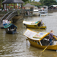 "Kuching is the administrative capital of Sarawak. According to ""Wikipedia"" - Numerous natural attractions including National Parks, notably the Bako National Park and the Kuching Wetlands National Park as well as the Semenggoh Wildlife Center which operates an orang utan orphanage and rehabilitation program are popular attractions near Kuching. Also, available near Kuching are the Gunung Gading National Park and the Kubah National Park. Located about 40-minutes drive from Kuching is Santubong, a prominent beach resort area home to numerous world-class beach resorts, the Damai beach and the Sarawak Cultural Village."