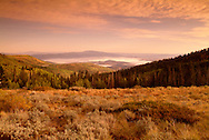 late summer/early autumn scenics of Empire Canyon and Deer Valley, above Park City, Utah