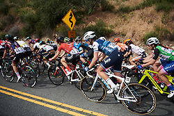 Tayler Wiles (USA) in the bunch at Amgen Tour of California Women's Race empowered with SRAM 2019 - Stage 3, a 126 km road race from Santa Clarita to Pasedena, United States on May 18, 2019. Photo by Sean Robinson/velofocus.com