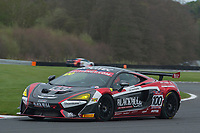 Black Bull Garage 59 #100 McLaren 570S GT4 Sandy Mitchell/Ciaran Haggerty GT4 Silver  during British GT Championship as part of the BRDC British F3/GT Championship Meeting at Oulton Park, Little Budworth, Cheshire, United Kingdom. April 15 2017. World Copyright Peter Taylor/PSP.