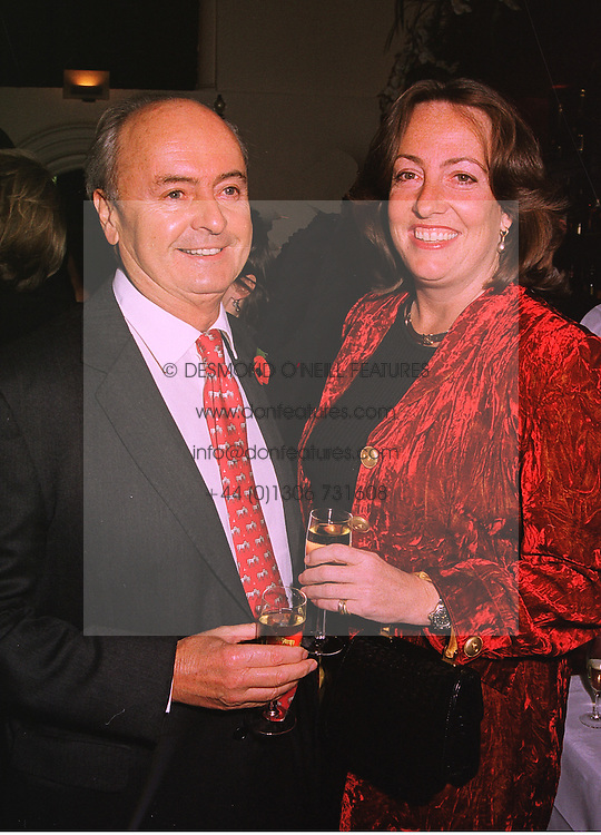 MR NED RYAN and LADY ALEXANDRA CARNEGIE, at a party in London on 4th November 1998.MLO 24