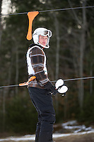 Capital Cup Alpine slalom at Blackwater / Proctor  February 2, 2013.  Karen Bobotas/for the Concord Monitor