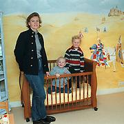 Muurschilderingen in kinderkamer gemaakt door Mw. van der Kraaij Iepenlaan 21 Huizen
