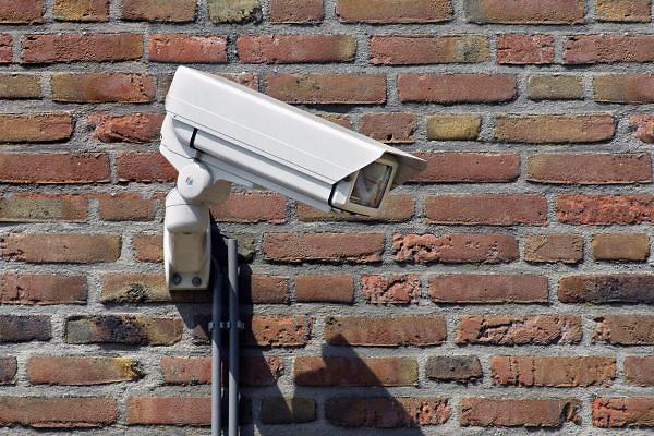 Nederland, Nijmegen, 23-2-2012Bewakingscamera bij het terrein van de TBS gevangenis van de Pompestichting, pompekliniek.Foto: Flip Franssen/Hollandse Hoogte