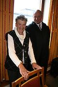 """Brit Stubbe, manusforfatter for friluftsspelet """"Karolinernes hærtog i Tydal"""" møtte Tydal kommune, i retten i 2007. I et forsøk på å løse strid om rettigheter og avtaler."""