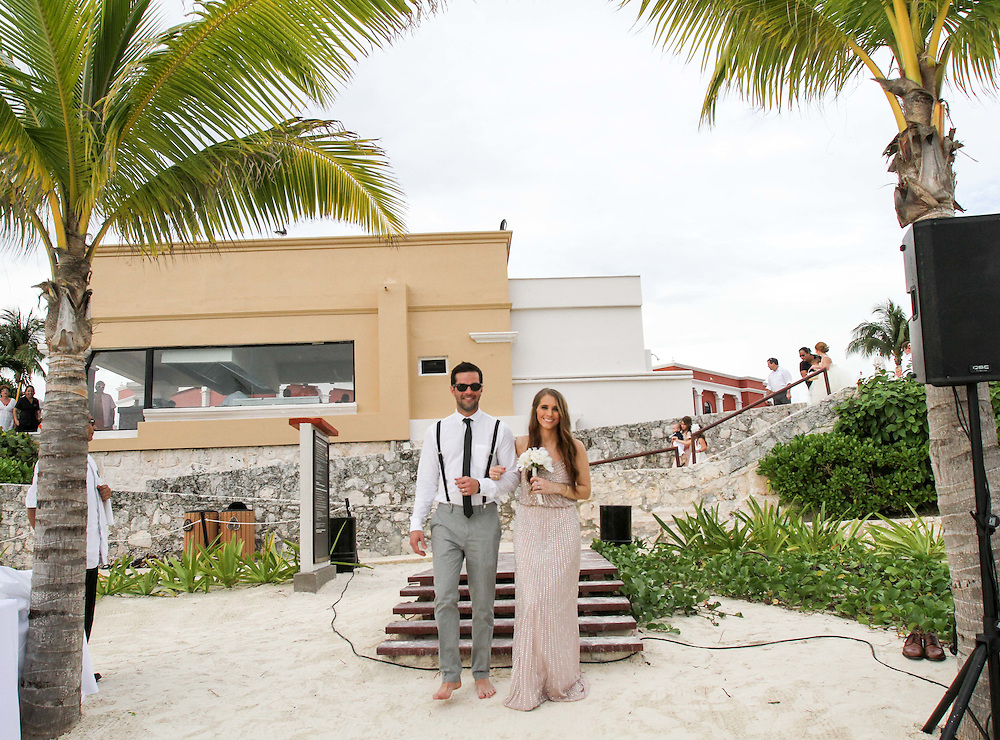 Barry and Mallory wedding Hard Rock Riviera Maya, December, 2015.