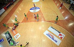 Handball game RD Slovan vs RD Merkur  in 7th round of MIK First league, on October 24, 2008 in Ljubljana, Slovenia. (Photo by Vid Ponikvar / Sportal Images)