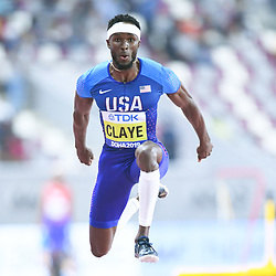 Doha, IAAF, Leichtathletik, athletics, Track and Field, World athletics Championships 2019  Doha, Leichtathletik WM 2019 Doha, 27.09-06.10.2019, .Khalifa International Stadium Doha,Will Claye, USA,  Dreisprung Männer Finale  , Fotocopyright Gladys Chai von  der Laage ..Photo by Icon Sport - Will CLAYE - Khalifa International Stadium - Doha (Qatar)