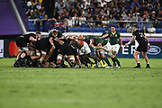 Herschel JANTJIES (RSA) during the Japan 2019 Rugby World Cup Pool B match between New Zealand and South Africa at the International Stadium Yokohama in Yokohama on September 21, 2019. Photo Kishimoto / ProSportsImages / DPPI