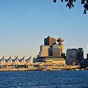 Panoramic view of Vancouver. BC. Canada