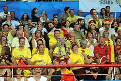 Team Belgium fans celebrate