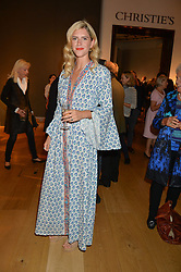 ANNABEL WOODHAMS at a party to celebrate the publication of Capability Brown & Belvoir - Discovering a lost Landscape by The Duchess of Rutland, held at Christie's, 8 King Street, St.James, London on 7th October 2015.
