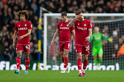 Jamie Paterson of Bristol City looks dejected after his side concede their first goal to make the score 1-0 - Mandatory by-line: Daniel Chesterton/JMP - 15/02/2020 - FOOTBALL - Elland Road - Leeds, England - Leeds United v Bristol City - Sky Bet Championship