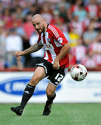 Brentford's Alan McCormack - Photo mandatory by-line: Patrick Khachfe/JMP - Mobile: 07966 386802 09/08/2014 - SPORT - FOOTBALL - Brentford - Griffin Park - Brentford v Charlton Athletic - Sky Bet Championship - First game of the season