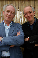 Belgian directors Jean-Pierre and Luc Dardenne selected in competition with their movie 'Le silence de Lorna' and two time previous winners of the Palme d'Or. Cannes, France, 2008