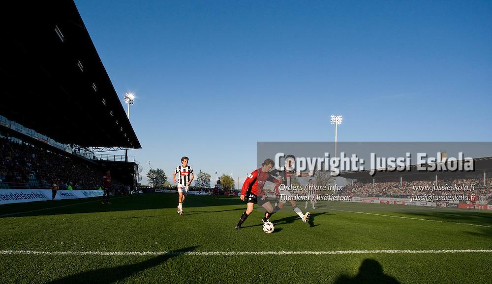 Mika Ojala, Sami Rähmönen. TPS - Inter. Veikkausliiga 4.5.2008. Veritas Stadion. Turku. Photo: Jussi Eskola