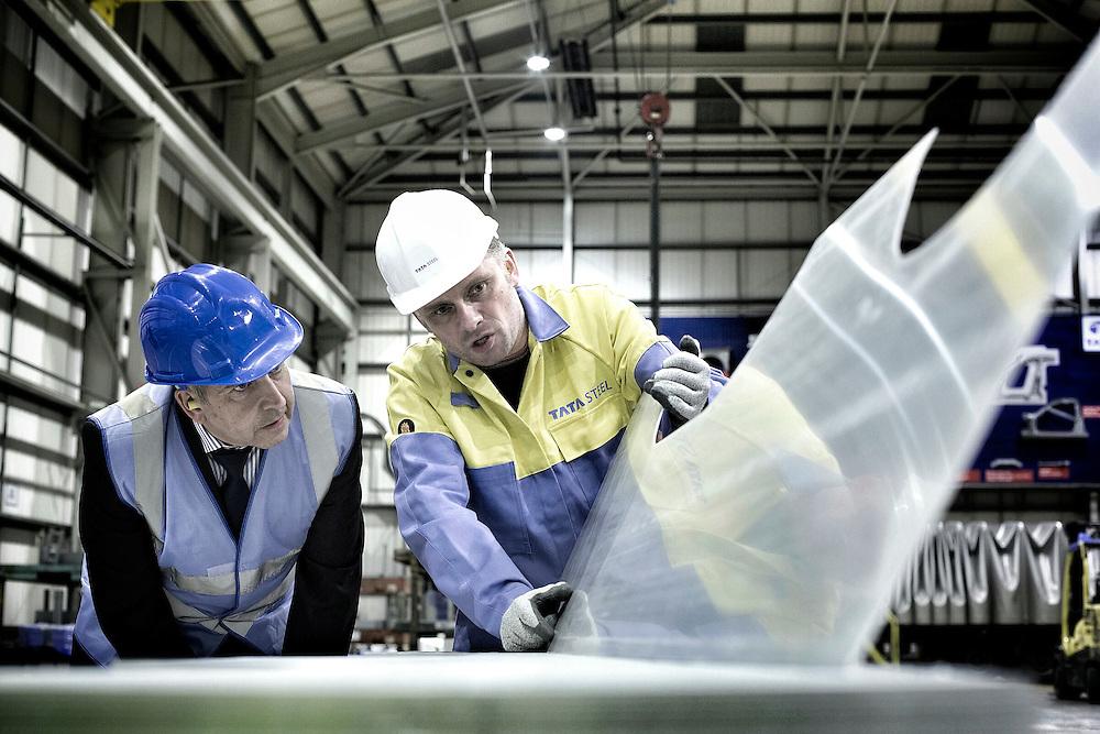 TATA Steel - Wolverhampton - quality control for steel auto parts